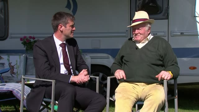 Prince Philip to step down from public engagements Prince Philip to step down from public engagements Derbyshire George Bowman interview SOT
