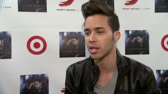Prince royce videos and b roll footage getty images interview prince royce talks about how happy he is to have the fans listen to the m4hsunfo
