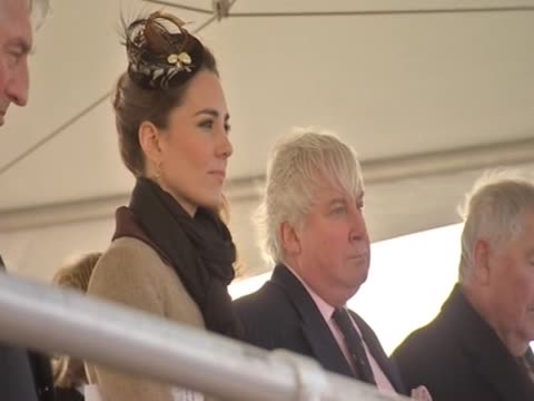 Prince William alludes to the earthquake in Christchurch and welcomes his fiancee Kate Middleton during a speech at their first official visit...
