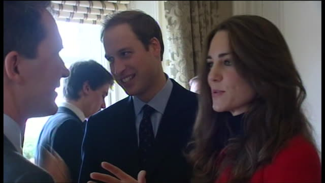 prince william and kate middleton saint andrews london kate middleton talking to a staff member at st andrews university - university stock videos & royalty-free footage