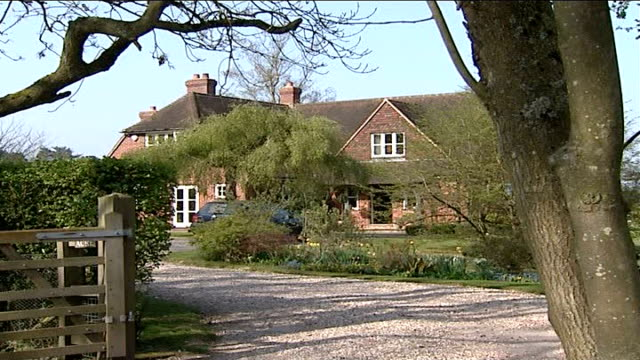 Prince William and Kate Middleton split up Berkshire Bucklebury EXT General View of Kate's parents family home Kate's car parked in drive