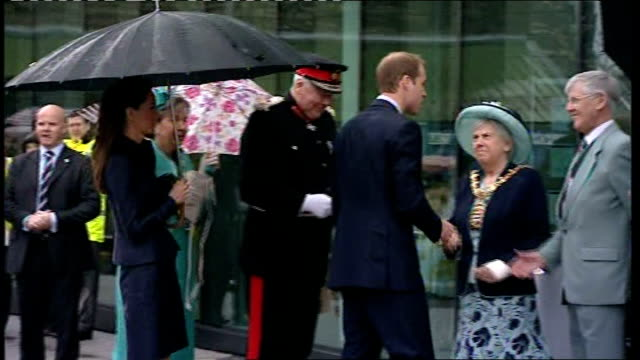 Prince William and Kate Middleton visit Lancashire / council approval for royal wedding street parties ENGLAND Lancashire Darwen EXT Kate Middleton...