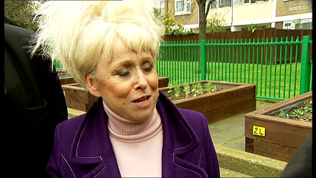 prince william and kate middleton wedding barbara windsor appointed 'street party ambassador' london bethnal green boris johnson mp and barbara... - bethnal green stock videos & royalty-free footage