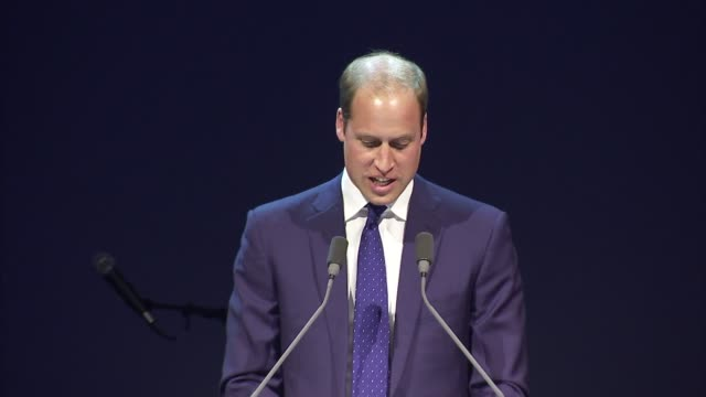 prince william and lionel richie attend jewish care charity event; guests at dinner for jewish care charity / prince william, duke of cambridge,... - lionel richie stock videos & royalty-free footage