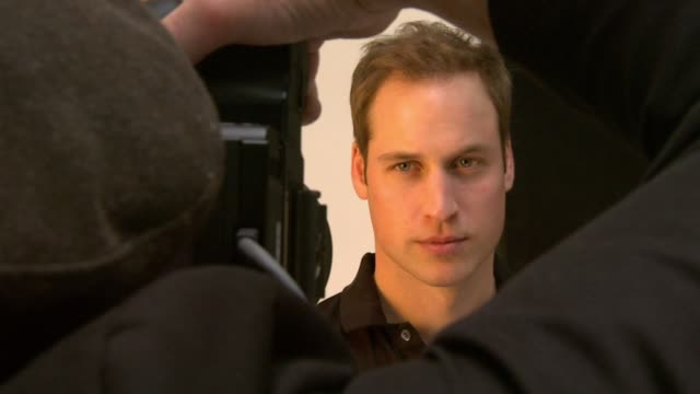 HRH Prince William and the formerly homeless Jeff Hubbard take portraits of each other under the guidance of the photographer Rankin The two hour...