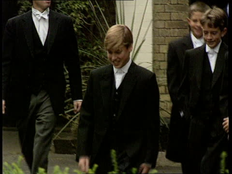 Prince William at Eton NAO Berks Slough Eton School MS Prince William along with other boys PAN