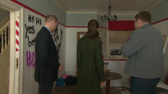 prince william attacks slum landlords uk lancashire blackpool prince william duke of cambridge and catherine duchess of cambridge visiting... - dormer stock videos and b-roll footage
