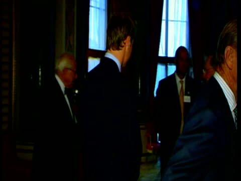 Prince William attends Olympic Bid Thank You reception hosted by the Queen Prince William Attends Olympic Bid Reception on June 23 2004 in London