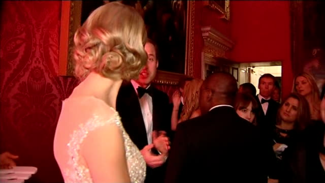 Prince William attends Winter Whites Gala in Kensington Palace Reception More Prince William chatting with Taylor Swift / Prince William along to...