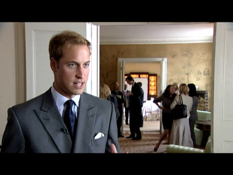 Prince William comments on why he established annual 'Charities Forum' with Prince Harry 16 September 2009