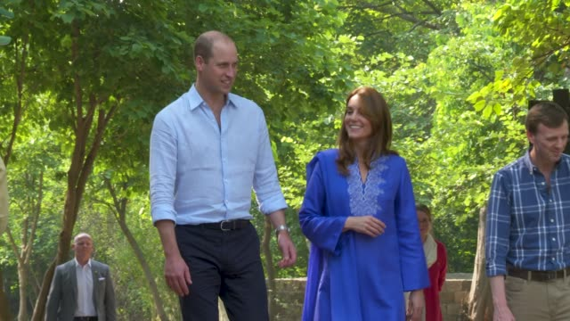 PAK: Visit to the Margalla Hills -The Duke and Duchess of Cambridge visit Pakistan