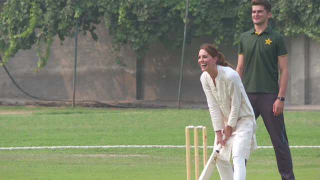 PAK: Cricket Showcase - The Duke and Duchess of Cambridge visit Pakistan