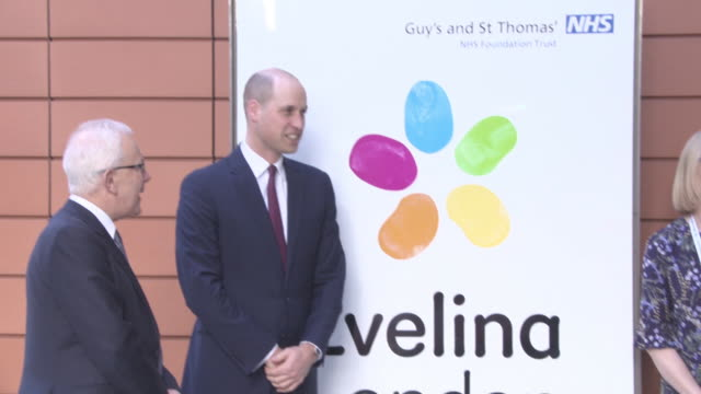 prince william duke of cambridge at the duke of cambridge launches 'step into health' on january 18 2018 in london england - herzog von cambridge stock-videos und b-roll-filmmaterial
