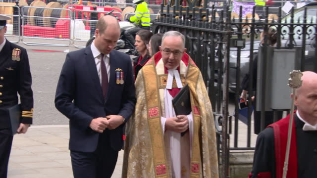 GBR: The Duke of Cambridge attends Service at Westminster Abbey to recognise fifty years of continuous deterrent at sea