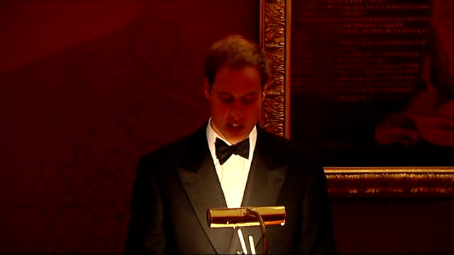 prince william hosts event for homeless charity 'centrepoint' prince william speech prince william speech sot i don't actually live in this building... - 2009 stock videos & royalty-free footage