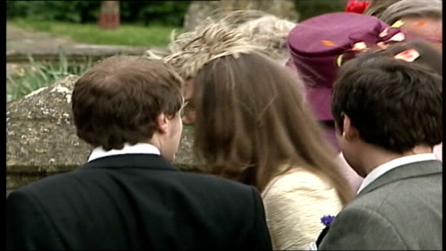 prince william marriage speculation lib / 652006 kate middleton at wedding of laura parkerbowles slow - 2006 stock videos & royalty-free footage