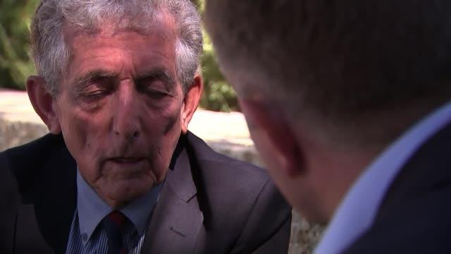 Prince William meets Israeli President on tour Israel Jerusalem Yad Vashem Holocaust Memorial Holocaust survivor interview Paul Alexander set up...