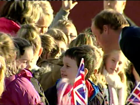 prince william meets young diana award holders on november 22 2013 in south shields england - south shields stock videos & royalty-free footage