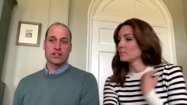 "prince william saying he was ""quite concerned"" when his father prince charles tested positive for covid-19 - couple relationship stock videos & royalty-free footage"