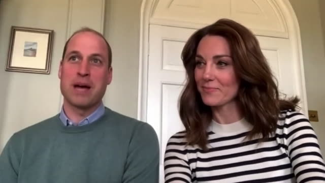 "prince william saying his father prince charles found it ""very difficult to not be able to go for a walk"" after testing positive for covid-19 - couple relationship stock videos & royalty-free footage"