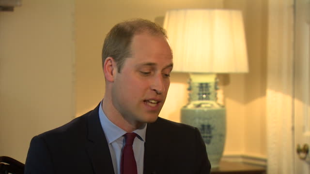 Prince William saying the Royal family has to modernise and develop