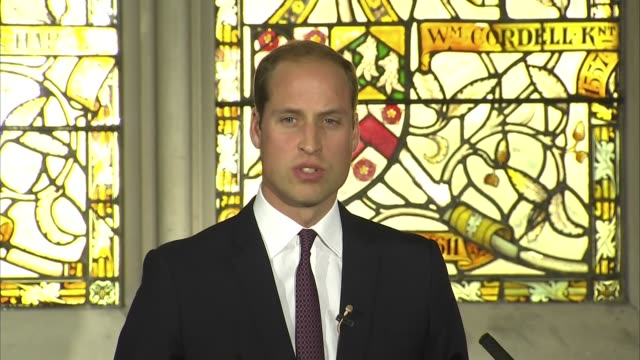 prince william speech at chinese event to combat illegal wildlife trade; prince william, duke of cambridge chatting to man on stage prince william,... - human stage stock videos & royalty-free footage