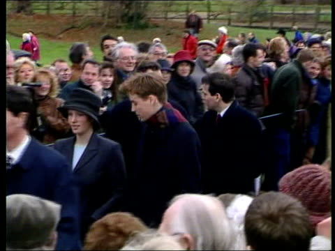 Prince William to become Godfather RUSHES Prince William along with other members of Royal Family to church LOCATION King Constantine of Greece and...