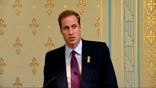 final day speech in Melbourne Prince William speech SOT The stories of suffering I have heard today inevitably made me think about the ongoing...