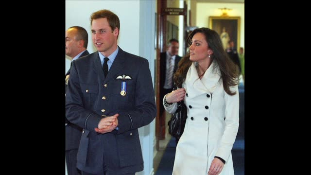 prince william's fiancee kate middleton said monday that joining britain's royal family was a 'daunting prospect' as the couple announced they would... - greater london stock videos and b-roll footage