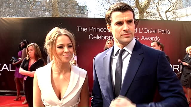 prince's trust celebrate success awards: red carpet arrivals; gareth southgate signing autographs / southgate posing with fan for photograph / gareth... - christine bleakley stock videos & royalty-free footage