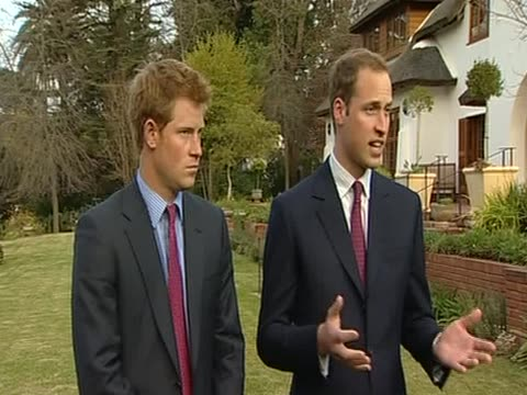 Princes William and Harry comment on the work of their charities during royal tour of South Africa