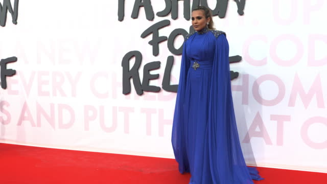 Princess Aisha Al Thani at Fashion for Relief Fashion Catwalk The 71st Cannes Fillm Festival at Aeroport Cannes Mandelieu on May 13 2018 in Cannes...