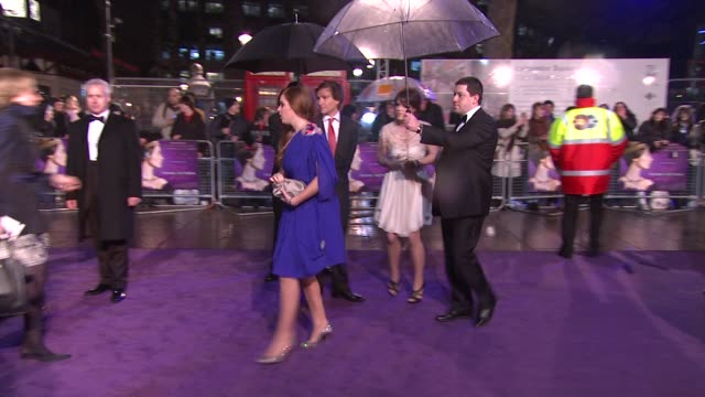Princess Beatrice and Princess Eugenie at the The Young Victoria World Premiere at London