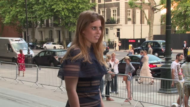 HRH Princess Beatrice HRH Princess Eugenie at Victoria and Albert Museum on June 21 2017 in London England