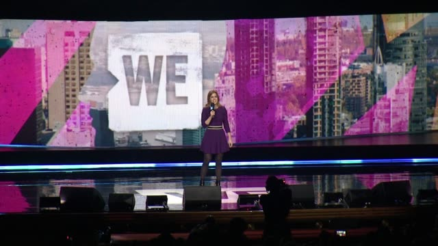 princess beatrice of york at we day new york welcome to celebrate young people changing the world at radio city music hall on april 06, 2017 in new... - radio city music hall stock-videos und b-roll-filmmaterial