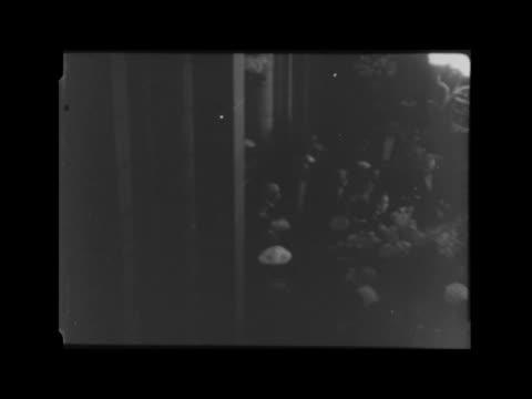 princess caroline christened at monaco cathedral monaco monaco cathedral bv grandparents going in bv prince rainier iii princess grace of monaco... - prince rainier iii of monaco stock videos & royalty-free footage