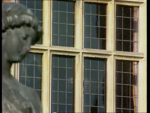 political activity itn england bucks chequers various shots of chequers baroness jay and another towards baroness jay intvwd it will take time to... - gale stock videos and b-roll footage