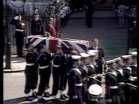 princess diana death princess diana death ex u18109402 funeral of earl mountbatten - funeral stock videos & royalty-free footage
