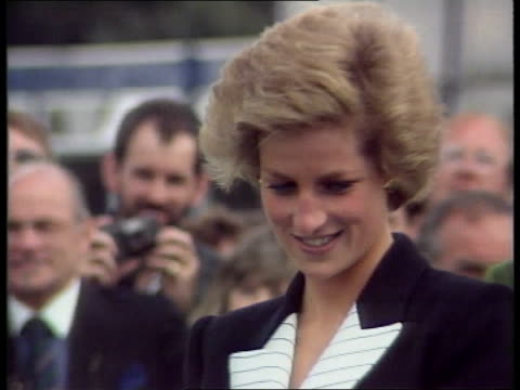 princess diana holiday princess diana holiday lib berks windsor princess and mohammed al fayed presenting polo prizes to prince charles lib france st... - berkshire england stock videos & royalty-free footage
