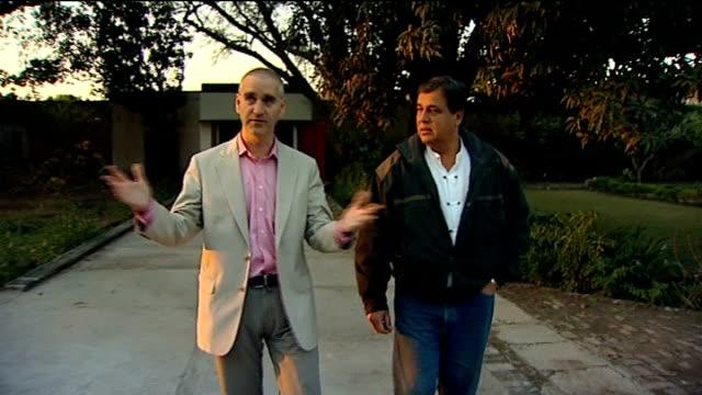 princess diana inquest: interview with hasnat khan; pakistan: jhelum: ext hasnat khan along with reporter **news at ten exclusive** int hasnat khan... - hasnat khan stock-videos und b-roll-filmmaterial