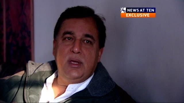 interview with hasnat khan pakistan jhelum int **'news at ten exclusive' logo hasnat khan interview sot i hope it settles all the questions which... - hasnat khan stock-videos und b-roll-filmmaterial