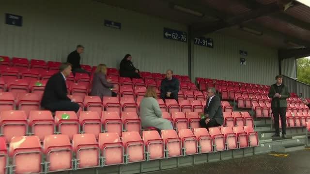 princess diana panorama interview scandal: boris johnson expresses concern at lord dyson report findings; scotland: edinburgh: ainslie park stadium:... - news not politics stock videos & royalty-free footage