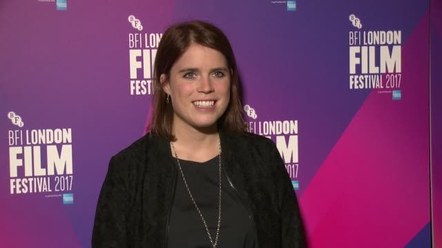 Princess Eugenie at Picturehouse Central on October 13 2017 in London England