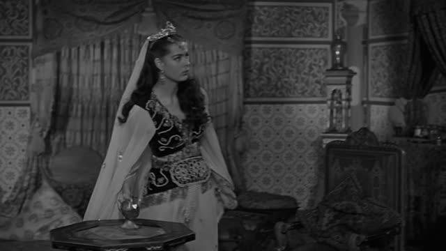 princess flees through secret passage in castle spain century xvii - privatsphäre stock-videos und b-roll-filmmaterial
