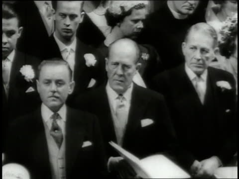 princess margaret weds anthony armstrong jones at westminster abbey. - westminster abbey stock videos & royalty-free footage