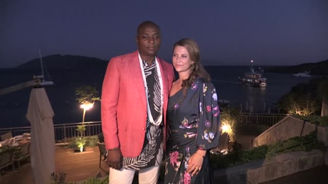 princess martha louise of norway and shaman durek attended a dinner on saturday in turkey's southwestern province of mugla on the coast of the aegean... - traditionally norwegian stock videos & royalty-free footage