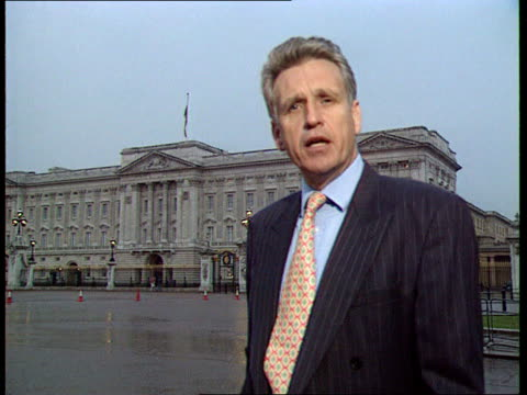 anniversary of death ITN London Buckingham Palace Owen i/c London W1 Grosvenor House Hotel Int TBV Elton John onto stage and receives 'Ivor Novello'...