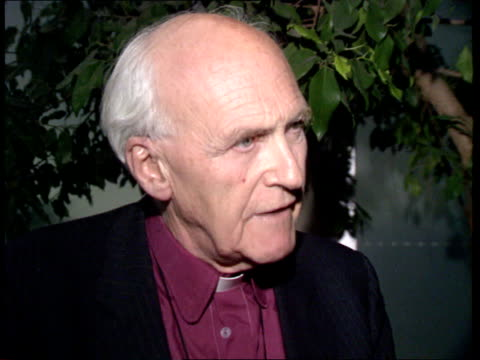 book alleges affair cms rt rev hugh montefiore intvwd sot if the heir wished to remarry the archbishop of canterbury would have to decide whether he... - heir stock videos and b-roll footage