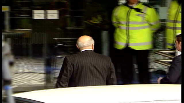 coroner orders police investigation on first day of inquest england london westminster queen elizabeth ii conference centre ext car along mohamed... - inquest stock videos & royalty-free footage