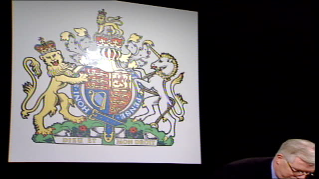 coroner orders police investigation on first day of inquest england london westminster queen elizabeth ii conference centre int michael burgess into... - inquest stock videos & royalty-free footage
